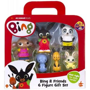 Bing - Set 6 Personaggi - Scatola con Maniglia