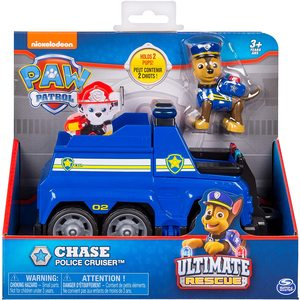 Paw Patrol - Ultimate Rescue - Veicolo della Polizia di Chase