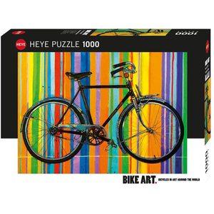 Heye 29541 - Puzzle 1000 pezzi - L'Arte della Bici