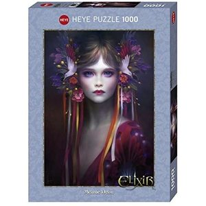 Heye 29781 - Puzzle 1000 pezzi - Delon Pretty in Pink