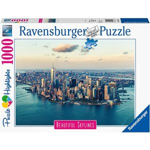 Ravensburger 14086 - Puzzle 1000 pezzi - New York