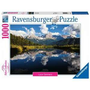 Ravensburger 16197 - Puzzle 1000 pezzi - Vita in Montagna