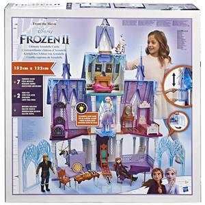 Disney Frozen II – Castello di Arendelle deluxe, con luci, terrazzo mobile e suoni