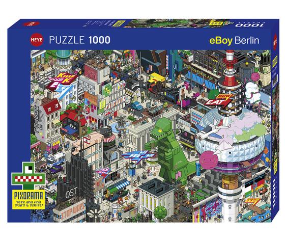 HEYE 29915 - Puzzle 1000 pezzi - Berlin Quest