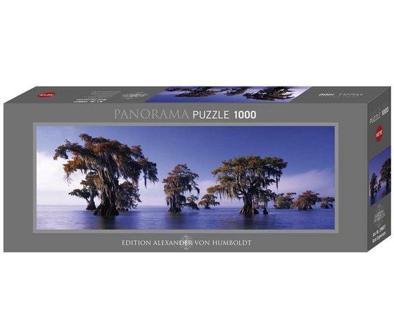 Heye 29607 - Puzzle 1000 Pezzi Panoramico - Cipressi Calvi