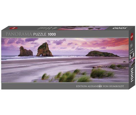 Heye 29816 - Puzzle 1000 pezzi Panorama -  Wharariki Beach