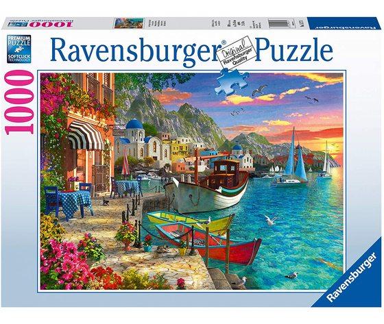 Ravensburger 15271 - Puzzle 1000 pezzi - Meravigliosa Grecia
