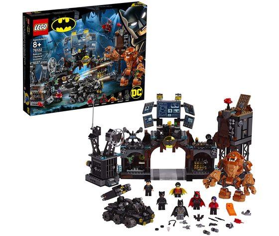 LEGO 76122 - Super Heroes - Clayface e L'invasione Della Bat Caverna