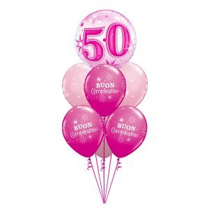 Bouquet 50° Compleanno - Pink