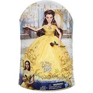 Disney Princess - Belle, vestito da ballo incantato - 33cm