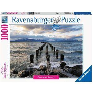 Ravensburger 16199 - Puzzle 1000 pezzi - Puerto Natales, Cile