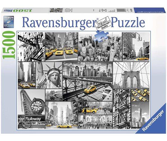 Ravensburger 16354 - Puzzle 1500 pezzi - Macchie di Colore a New York