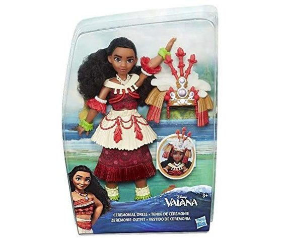 Disney - Vaiana - Cerimonial Dress - Bambola 30cm