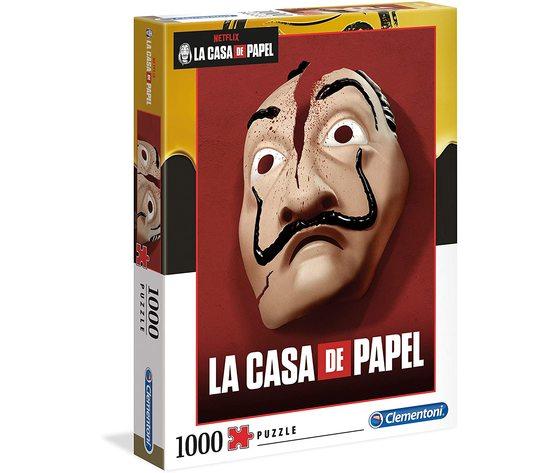 Clementoni 39533 - Puzzle 1000 Pezzi - La Casa Di Carta - 1000 Pezzi