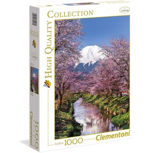 Clementoni 39418 - Puzzle 1000 pezzi - High Quality Collection - Fuji Mountain