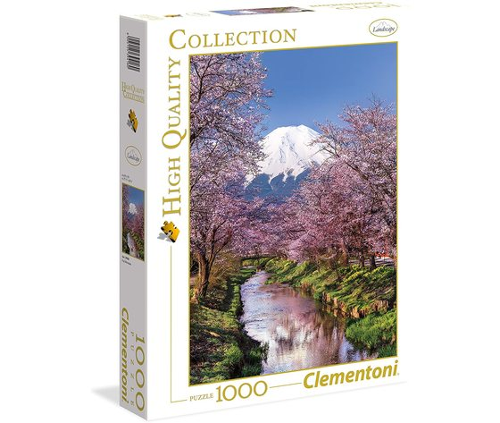 Clementoni 39418 - Puzzle 1000 pezzi - High Quality Collection - Fuji Mountain