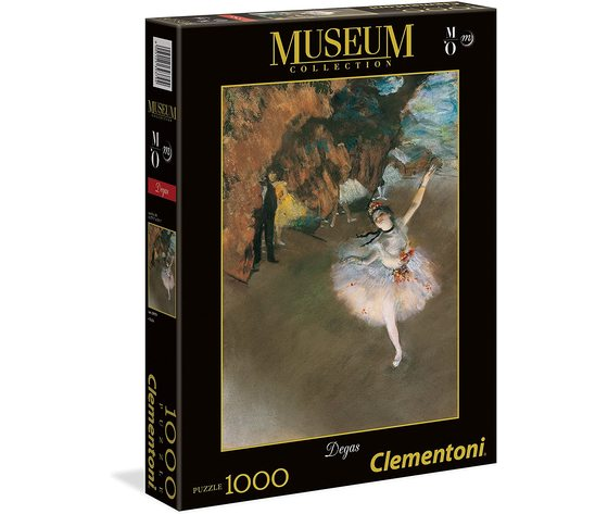 Clementoni 39379 - Puzzle 1000 pezzi - Museum Collection:  L'Etoile
