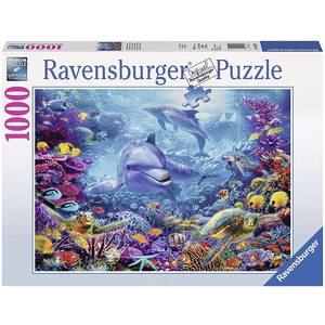 Ravensburger 19833 - Puzzle 1000 pezzi - Magnifico Mondo Sottomarino
