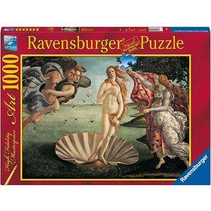 Ravensburger 15769 - Puzzle 1000 pezzi - Botticelli: Nascita di Venere