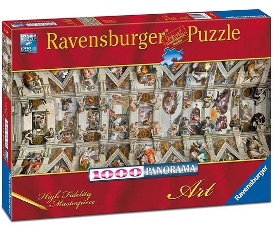 Ravensburger 15062 - Puzzle 1000 pezzi - Volta della Cappella Sistina
