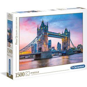 Clementoni 31816 - Puzzle 1500 pezzi - High Quality Collection - Tower Bridge Sunset