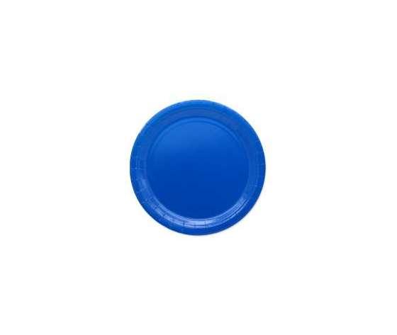 BLU - Piatto Grande Ecolor Blu - 25pz