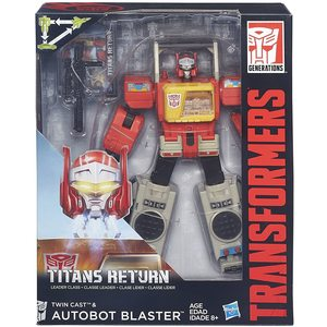Transformers - Titans Return - Twin Cast & Autobot Blaster