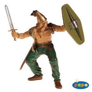 Papo 39609 - Gallo con trecce - 9cm