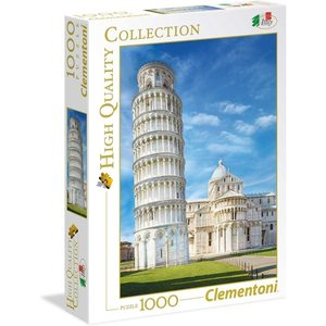 Clementoni 39455 - Puzzle 1000 pezzi, High Quality Collection - Pisa