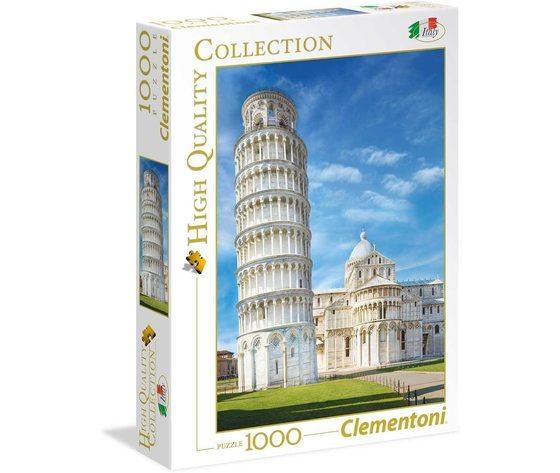 Clementoni 39455 - Puzzle 1000 pezzi, High Quality Collection - Pisa