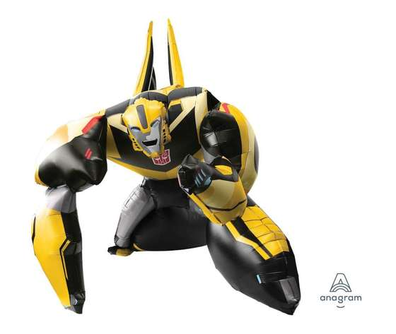 "TRANSFORMERS - Palloncino 47"" Air Walker - ""Bumble Bee"""