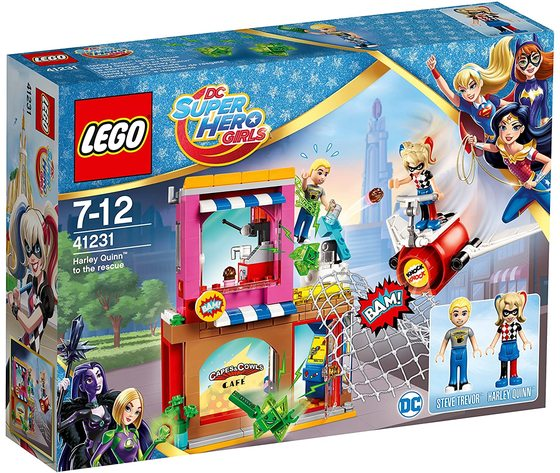 LEGO 41231 - Harley Quinn al salvataggio
