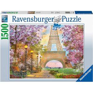 Ravensburger 16000 - Puzzle 1500 pezzi - Amore a Parigi