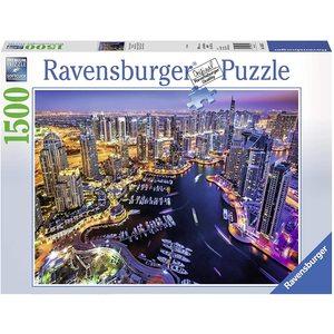 Ravensburger 16355 - Puzzle 1500 pezzi - Dubai nel Golfo Persico