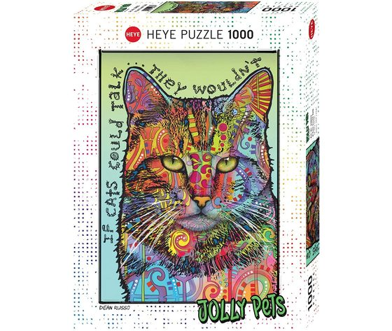 HEYE 29893 - Puzzle 1000 pezzi - If Cats Could Talk