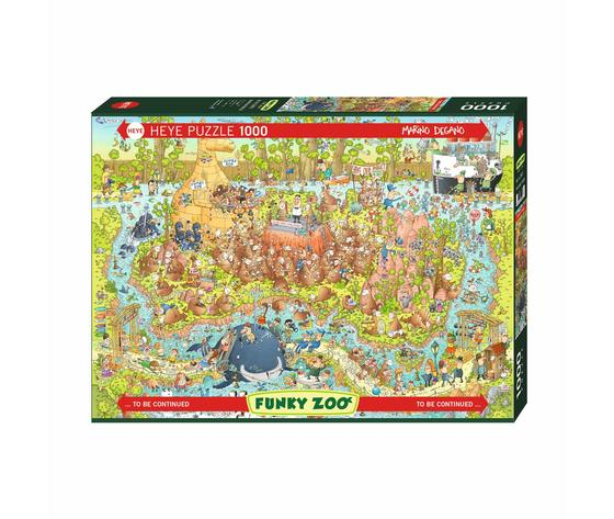 HEYE 29870 - Puzzle 1000 pezzi - Australian Habitat