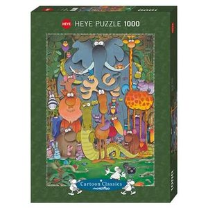 Heye 29284 - Puzzle 1000 pezzi - Mordillo: Photo