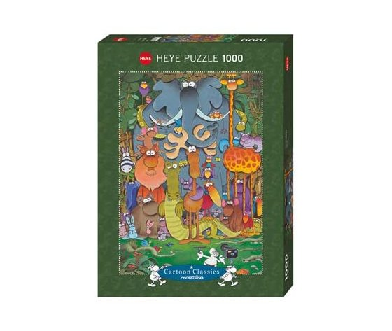 Heye 29284 - Puzzle 1000 pezzi - Mordillo: Photo