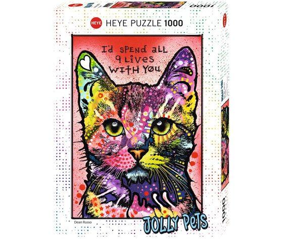 HEYE 29731 - Puzzle 1000 pezzi - Dean Russo: 9 Lives