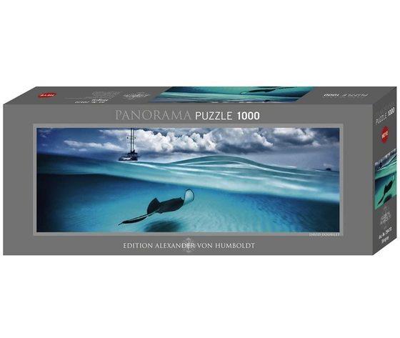 Heye 29470 - Puzzle 1000 pezzi Panoramico - Stingray