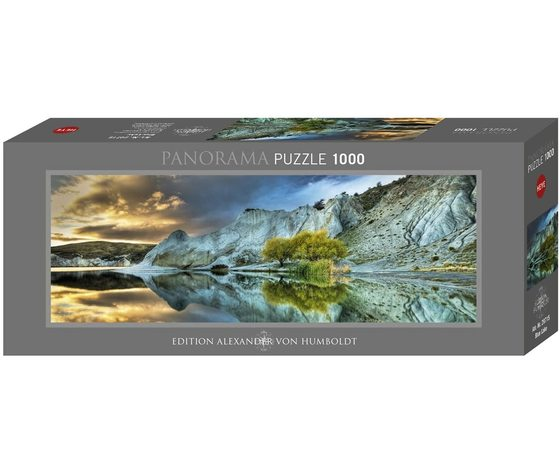Heye 29715 - Puzzle 1000 pezzi Panoramico - Blue Lake