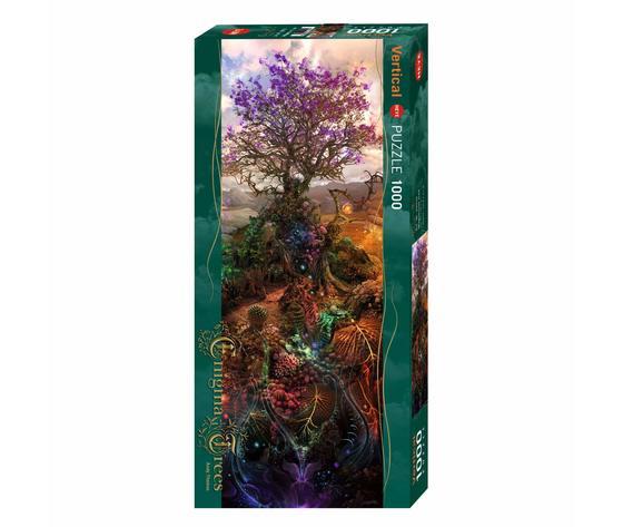 HEYE 29910 - Puzzle 1000 pezzi Vertical - Magnesium Tree