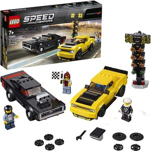 LEGO 75893 - Dodge Challenger SRT Demon e 1970 Dodge Charger R/T