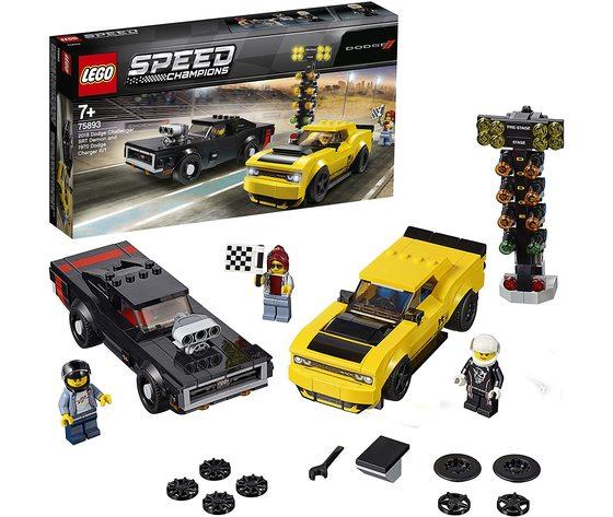 LEGO 75893 - Dodge Challenger SRT Demon e 1970 Dodge Charger R/T