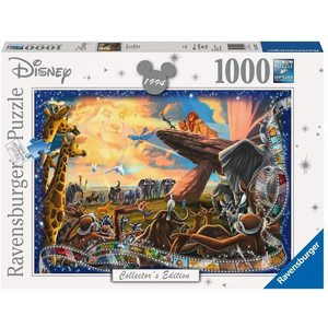 Ravensburger 19747 - Puzzle 1000 pezzi - Disney: Il Re Leone