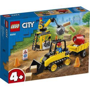 LEGO 60252 - Bulldozer da cantiere