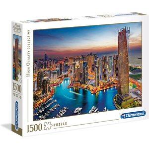 Clementoni 31814 - Puzzle 1500 pezzi, High Quality Collection - Dubai Marina