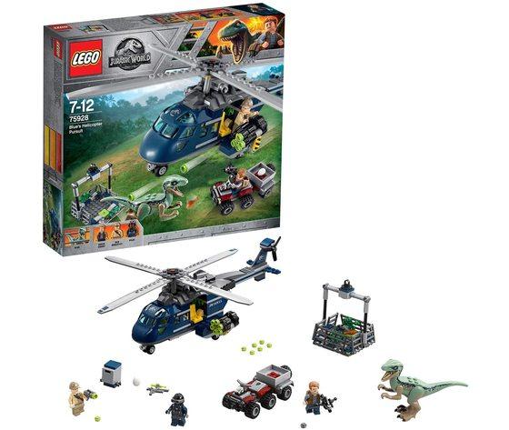 LEGO 75928 - Inseguimento sull'Elicottero di Blue