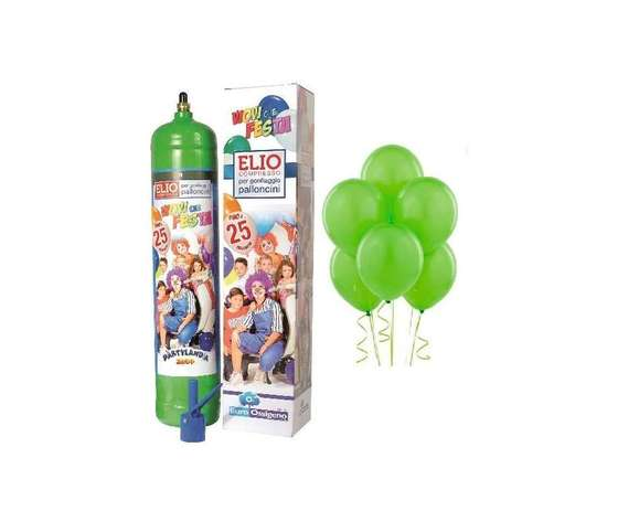 Bombola Elio Usa e Getta 1.3lt + 25 palloncini