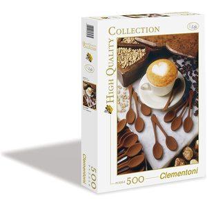 Clementoni 30343 - Puzzle 500 pezzi - Love Cappuccino
